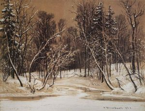 Ivan Ivanovich Shishkin - Forest in winter