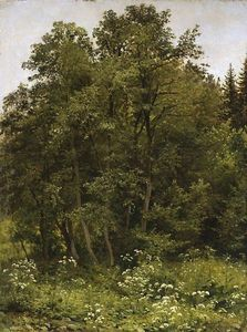 Ivan Ivanovich Shishkin - At the edge of the forest
