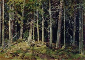 Ivan Ivanovich Shishkin - Forest. Mounds
