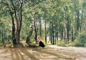 Ivan Ivanovich Shishkin - At the Summer Cottage