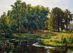 Ivan Ivanovich Shishkin - In the park