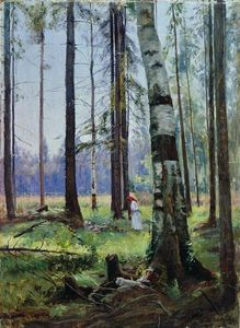 Ivan Ivanovich Shishkin - Edge of the Forest (9)
