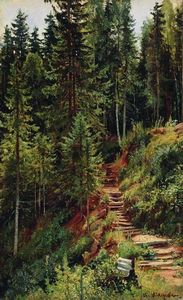 Ivan Ivanovich Shishkin - The path in the forest