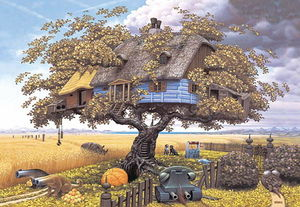 Jacek Yerka - Back from Safari