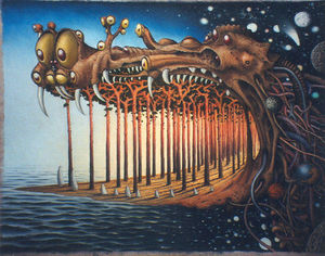 Jacek Yerka - Breath of the Dragon