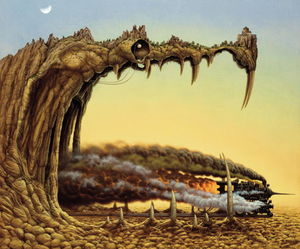 Jacek Yerka - Dragon pleasure