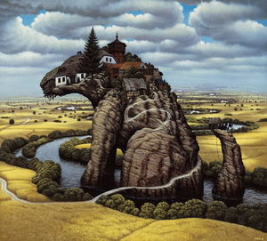Jacek Yerka - Little Dog-s Rock