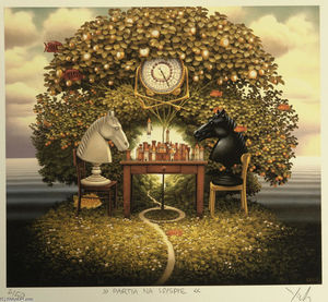 Jacek Yerka - Party on the Island
