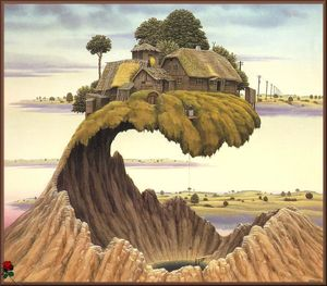 Jacek Yerka - Please Don-t Slam The Door