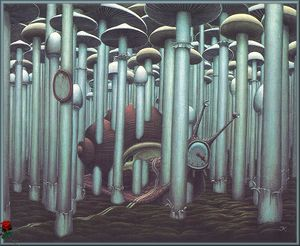 Jacek Yerka - Traffic Prohibited
