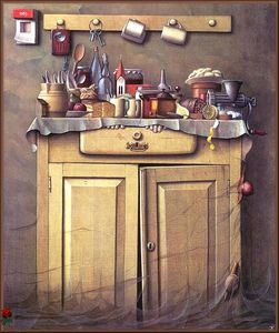 Jacek Yerka - Twilight In The Cupboard
