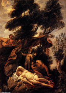 Jacob Jordaens - Sleep of Antiope