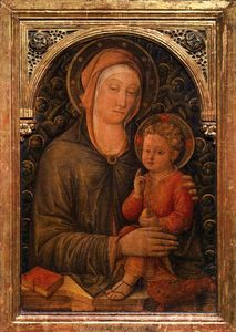 Jacopo Bellini - Virgin with Child