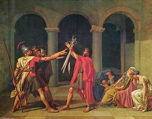 Jacques Louis David - The Oath of Horatii