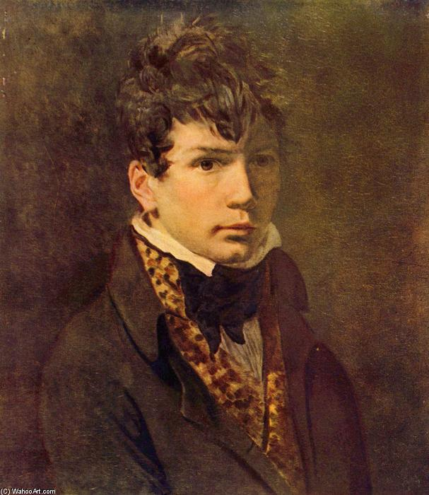 Portrait of the Young Ingres, Oil On Canvas by Jacques Louis David (1748-1800, France)