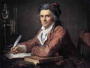 Jacques Louis David - Portrait of Alphonse Leroy