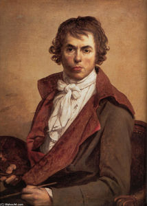 Jacques Louis David - Self Portrait