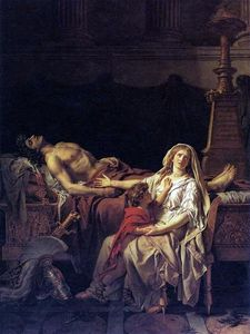 Jacques Louis David - The Pain of Andromache