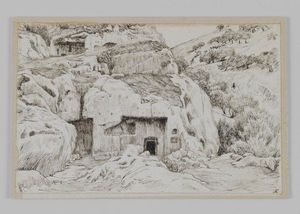 James Jacques Joseph Tissot - Tombs In the Valley of Hinnom