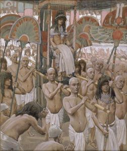 James Jacques Joseph Tissot - The Glory of Joseph