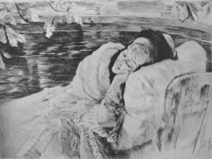 James Jacques Joseph Tissot - Convalescence