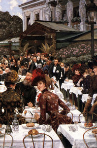 James Jacques Joseph Tissot - The Artist's Ladies