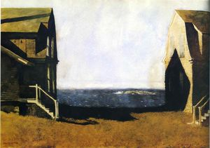 Jamie Wyeth - Summer House, Winter House