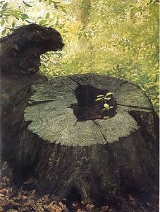 Jamie Wyeth - New Shoot