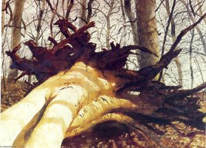 Jamie Wyeth - Fallen