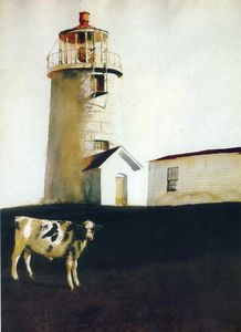 Jamie Wyeth - Island Steer