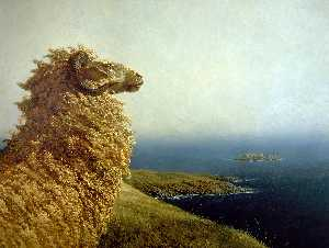 Jamie Wyeth - The Islander