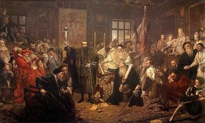 Jan Matejko - The Union of Lublin