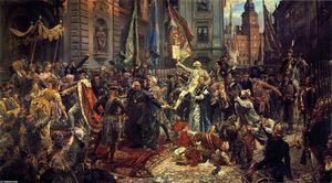 Jan Matejko - The Constitution of the 3rd May 1791