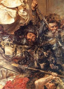 Jan Matejko - Battle of Grunwald (detail) (10) - (paintings reproductions)