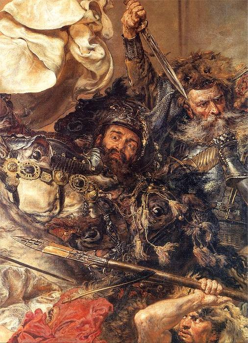 Battle of Grunwald (detail) (10), 1878 by Jan Matejko (1838-1893, Poland) | Museum Quality Reproductions | WahooArt.com