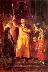 Order Museum Quality Copies | Jan III Sobieski by Jan Matejko (1838-1893, Poland) | WahooArt.com