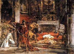 Jan Matejko - St Stanislaus killing