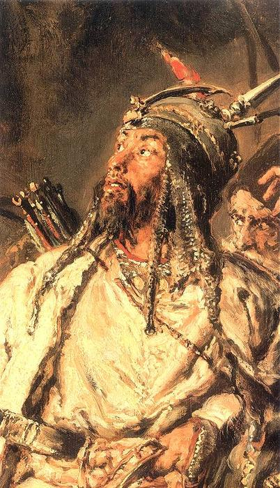 Tugai Bey by Jan Matejko (1838-1893, Poland) | Museum Quality Copies Jan Matejko | WahooArt.com