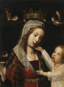Jan Provoost - Virgin and Child