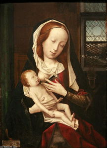 Jan Provoost - Virgin Giving Breast