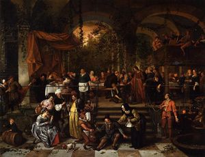 Jan Steen - Wedding Feast at Cana
