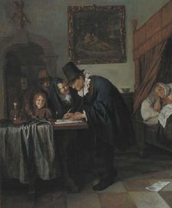 Jan Steen - Doctor-s visit