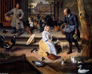 Jan Steen - Court