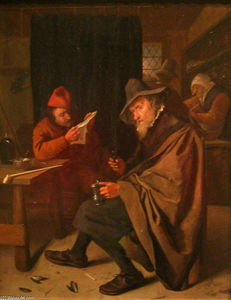 Jan Steen - Drinker
