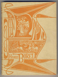 Jean Theodoor Toorop - Cover for -A dream- by Henri Borel