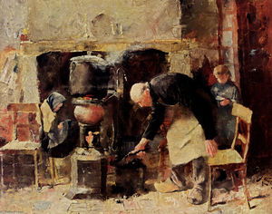 Jean Theodoor Toorop - Preparing The Meal