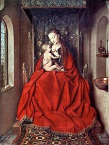 Jan Van Eyck - The Lucca Madonna