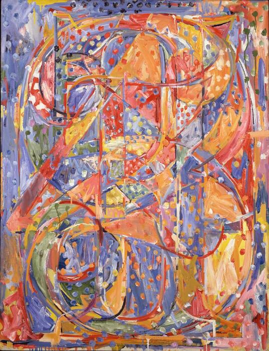 Order Art Reproduction : 0 through 9 by Jasper Johns | WahooArt.com