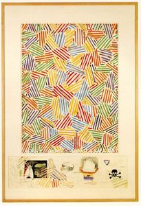 Order Painting Copy : Cicada by Jasper Johns | WahooArt.com