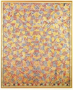 Jasper Johns - Dancers on a Plane
